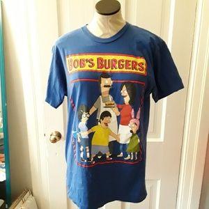 Tops - Bob's Burgers royal blue tshirt